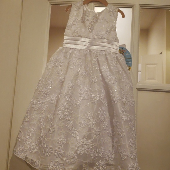 American Princess Dresses Nwt Toddler Girls White Formal Dress